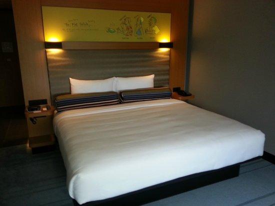 Aloft Kuala Lumpur Sentral: Urban room