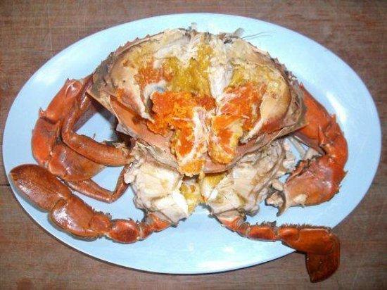 Koh Mak Seafood: ปูไข่ ไข่ปู