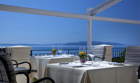 Hotel Villa Kapetanovic: Restaurant