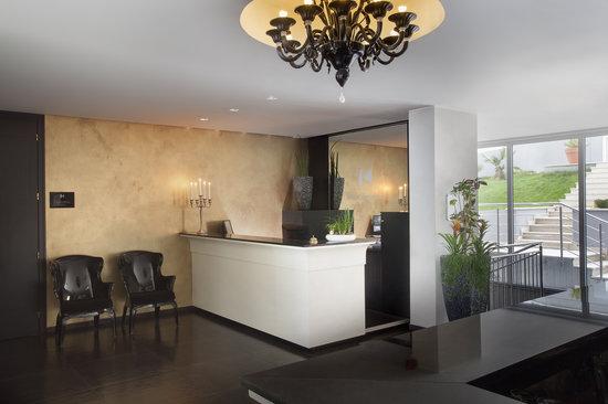 Hotel Villa Kapetanovic: Recepcion