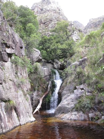 Jonkershoek Nature Reserve: THREE GREAT WATERFALLS
