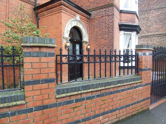 The Hollies: Entrance porch