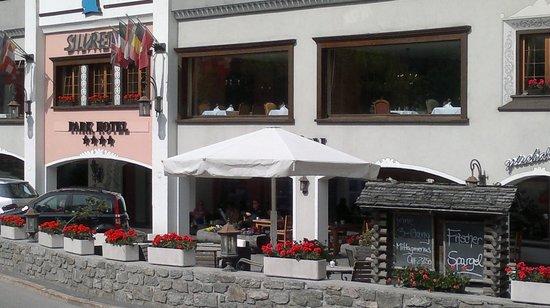 Silvretta Parkhotel Klosters : Aussenansicht