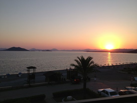 The most beautiful sunsets at Calis Beach taken from the quieter end near Caretta Beach Club