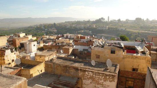 Riad Anne de Meknes: vue de la terrasse
