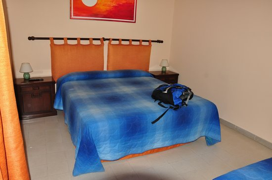 B&B Sunflower : Our room - it has one queen size bed and one person bed