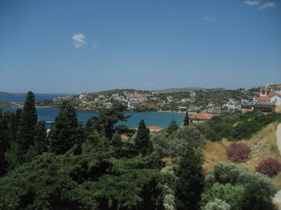 Villa Nefeli: View from ground floor room
