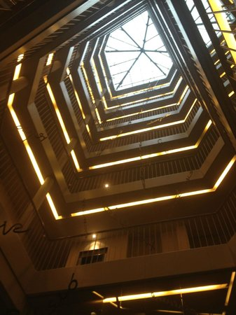 Sercotel Amister Art Hotel: vista arriba