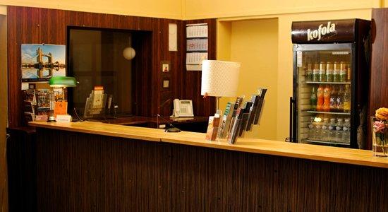 reception in Hotel City Bell Prague