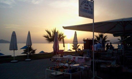IDEE Hotel: Lovely sunset