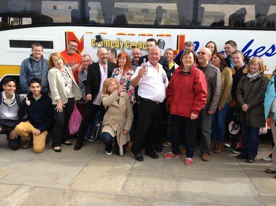 Comedy Coach Tour Liverpool