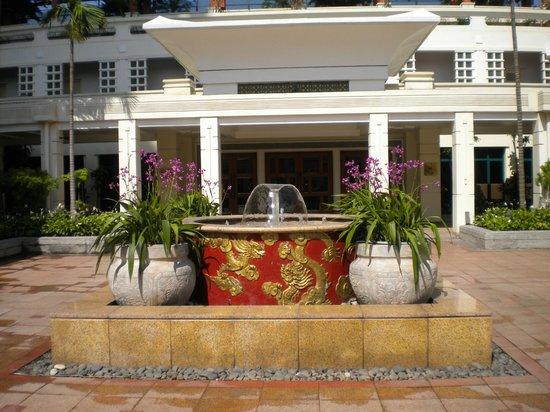 Sheraton Hanoi Hotel: patio