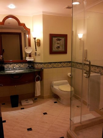 Sheraton Hanoi Hotel: bathroom - shower cubic , toilet