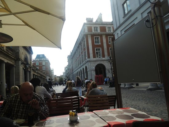 Covent Garden Kitchen: The view from the cafe