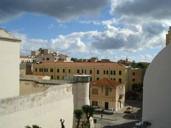 Aurasol : Udsigt fra balkonen