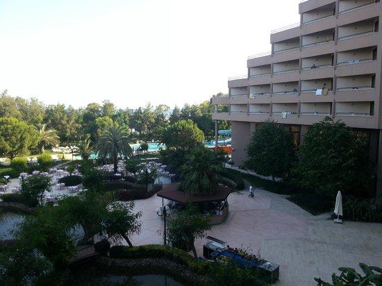 Grand Prestige Hotel & Spa : over the terrace