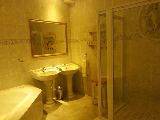Misty Waves Boutique Hotel Hermanus : Bagno suite