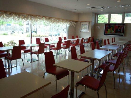 Laxio Inn: ラウンジ、朝食会場