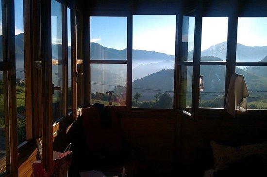 """Hotel Rural El Rexacu: The """"sun"""" room off the bedroom"""