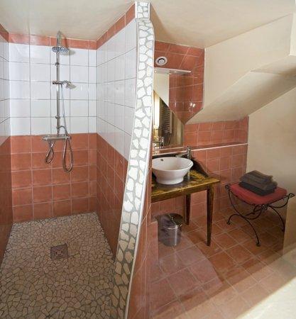 La Grange des Ecrins : Salle d'eau chambre Bolland
