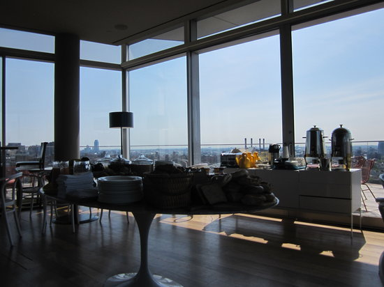 The Standard, East Village: Breakfast in the Penthouse