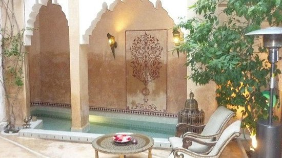 Riad Armelle: terrace