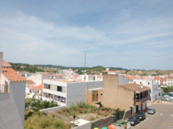 Hostal Jeni: Vue depuis le balcon