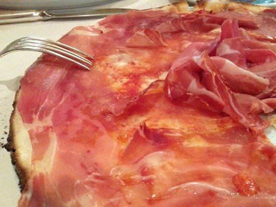 Le Specialita: Langhirano Pizza (€17) - Gluten free