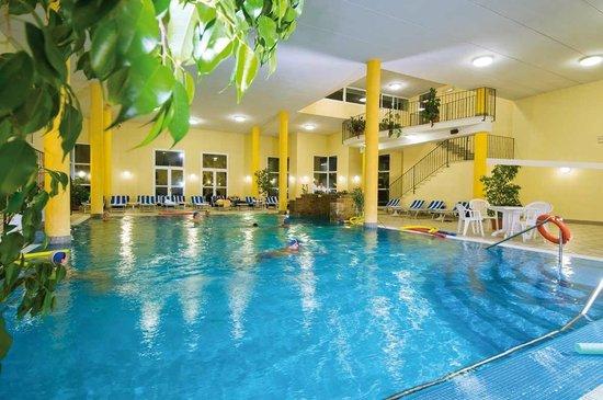 Piscina coperta foto di hotel terme belsoggiorno abano for Hotel bel soggiorno abano