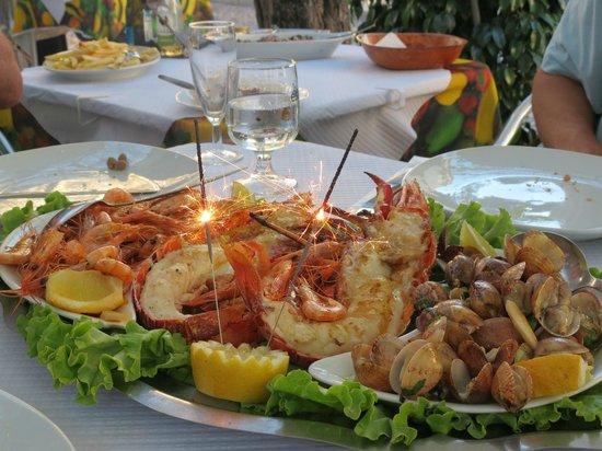 Restaurante Centenario: Sea food platter