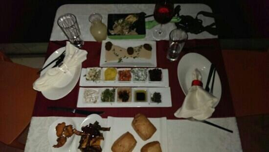 Restaurant Roberg: salads