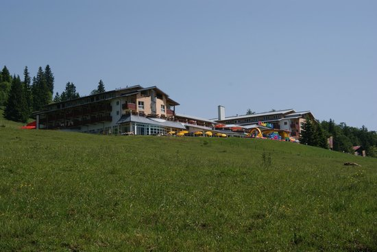 Arriving at Kinderhotel Oberjoch