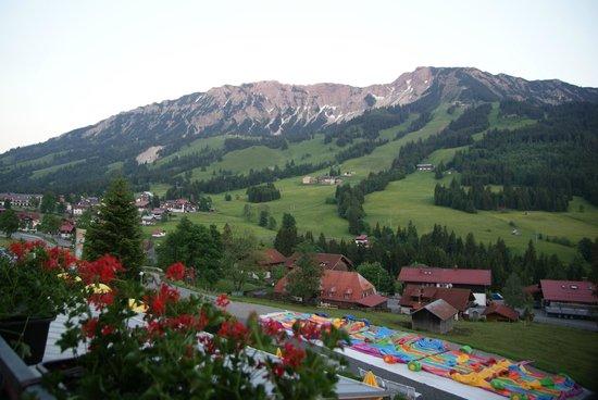 Kinderhotel Oberjoch: Beautiful view from hotel room