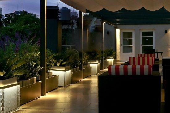 San Telmo Luxury Suites: Terraza