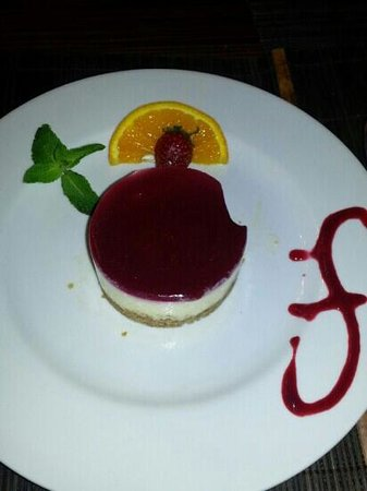 Jungle Art's: cheesecake aux pommes