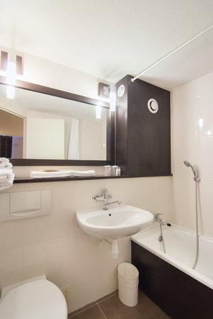 Kyriad Colmar Centre - Parc des Expositions : salle de bain