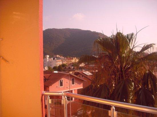 Vela Hotel Icmeler: View from Balcony