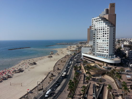 Orchid Tel Aviv: view from hotel
