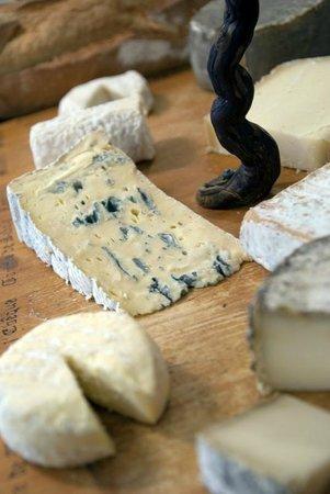 Auberge Le Collet : Plateau de fromages du vercors