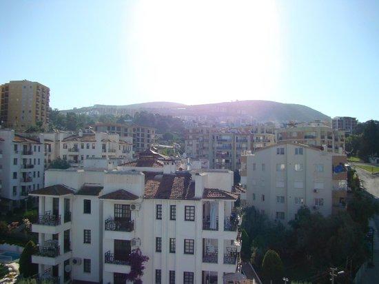 Grand Hotel Kurdoglu : widok
