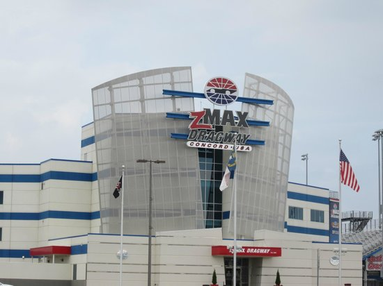 Drag racing area - Picture of Charlotte Motor Speedway