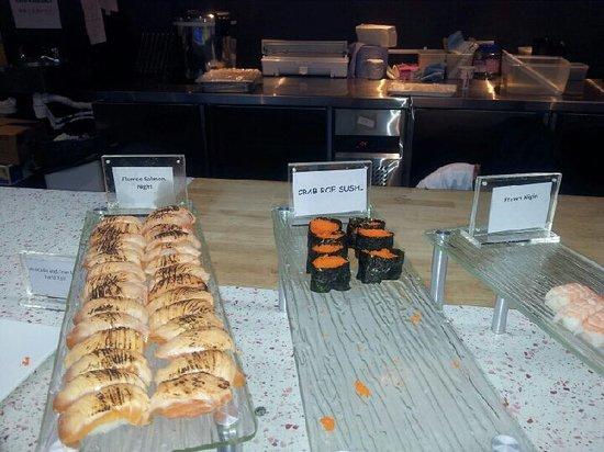 Kingdom World Buffet: lovely sushi
