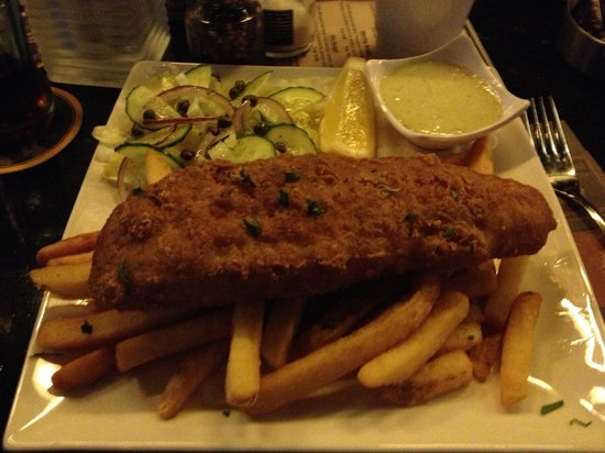 Barney's Coffeeshop: Il classico FISH and CHIPS