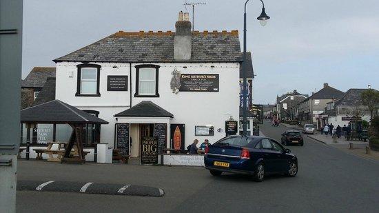 King Arthur's Arms Inn Restaurant: A very pleasant place to dine