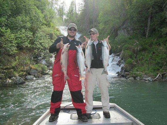Bob's Cabin & Guide Service : Sockeye Salmon