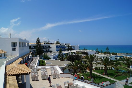 Mitsis Rinela Beach Resort & Spa: View from the room