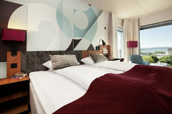 Scandic Solli : Brand new rooms with a view towards Oslofjorden.