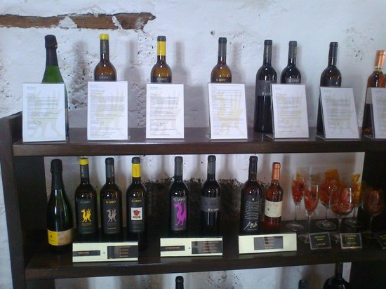Bodega El Grifo - Museo del Vino: the wines...