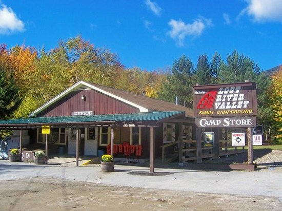 Lost River Valley Campground: Camp Store and office
