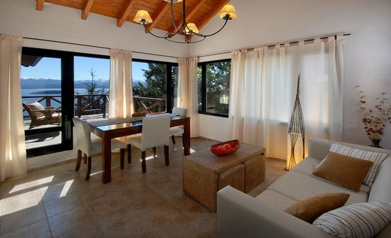 Catalonia Sur Aparts & Spa: Living Top View
